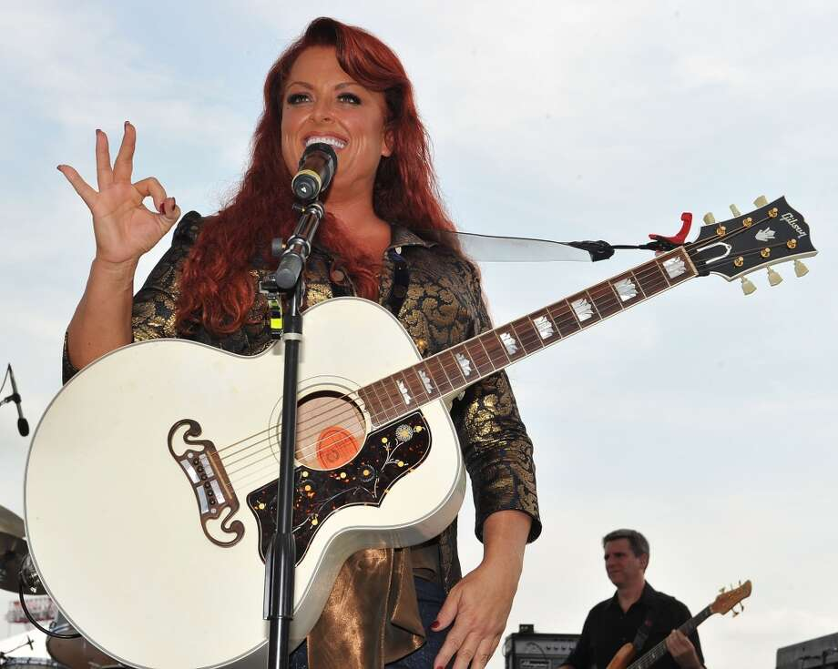 Wynonna & The Big Noise perform at Stamford's Alive @ Five concert series on Thursday, July 18. Here she is on stage at the Riverfront Park Stage in Nashville, Tenn. on June 10, 2010. Photo: Frederick Breedon, Getty Images