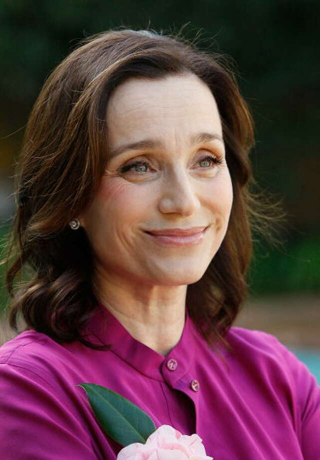 "Kristin Scott Thomas around the time of ""I've Loved You So Long"" -- compressed rage and anguish.  One of the great performances of the aughts. Photo: Vince Bucci, Getty Images / 2009 Getty Images"