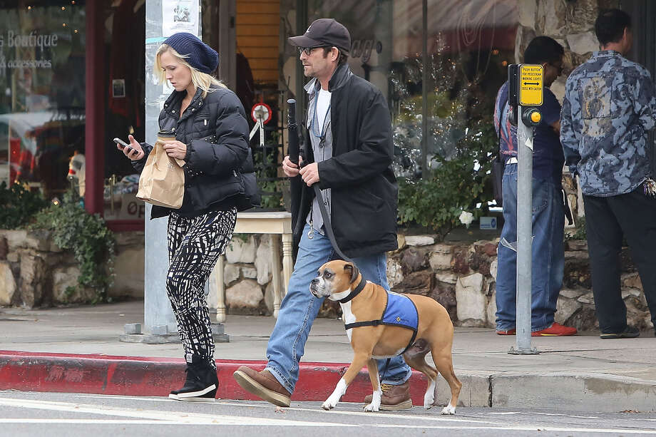 Jennie Garth and Luke Perry. Photo: Bauer-Griffin, Getty Images / 2012 Bauer-Griffin