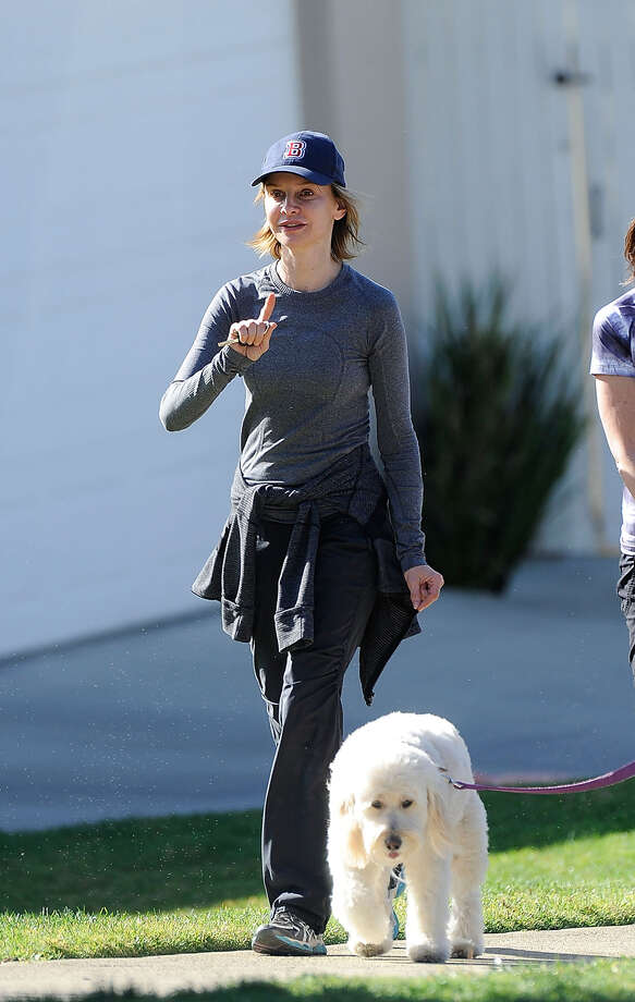 Calista Flockhart is seen going for a hike with a friend on March 3, 2013 in Los Angeles. Photo: GONZALO/Bauer-Griffin, Getty Images / 2013 Bauer-Griffin
