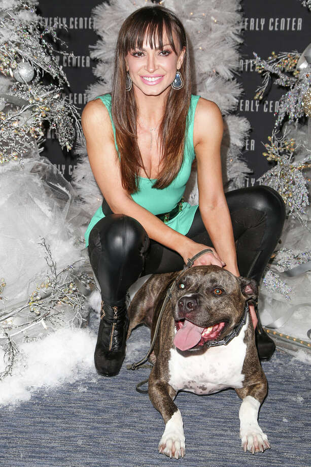 TV personality/dancer Karina Smirnoff and Randy. Photo: Chelsea Lauren, Getty Images / 2013 Chelsea Lauren