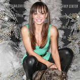 TV personality/dancer Karina Smirnoff and Randy.