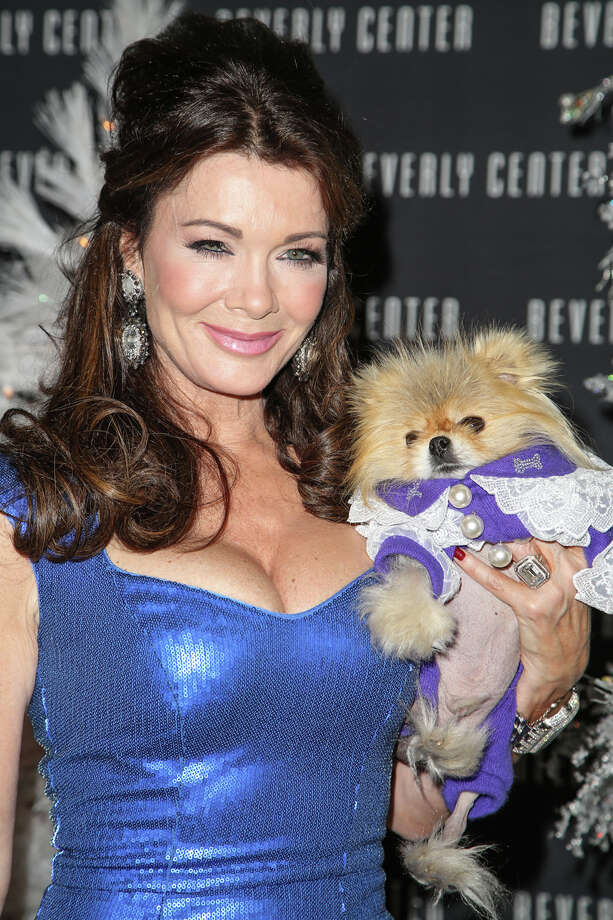 TV personality Lisa Vanderpump and Giggy. Photo: Chelsea Lauren, Getty Images / 2013 Chelsea Lauren