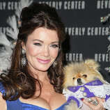 TV personality Lisa Vanderpump and Giggy.