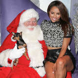 """Vampie Diaries"" actress Kat Graham and Lola."