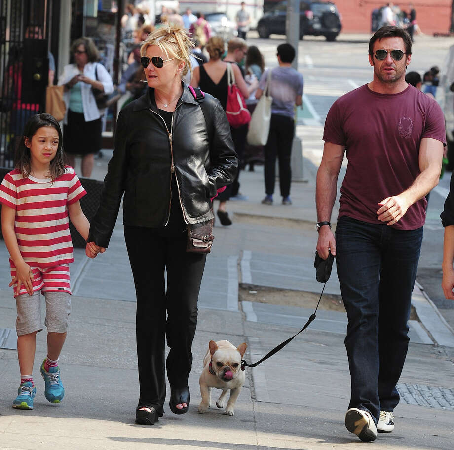 Hugh Jackman and family. Photo: Alo Ceballos, Getty Images / 2013 Alo Ceballos