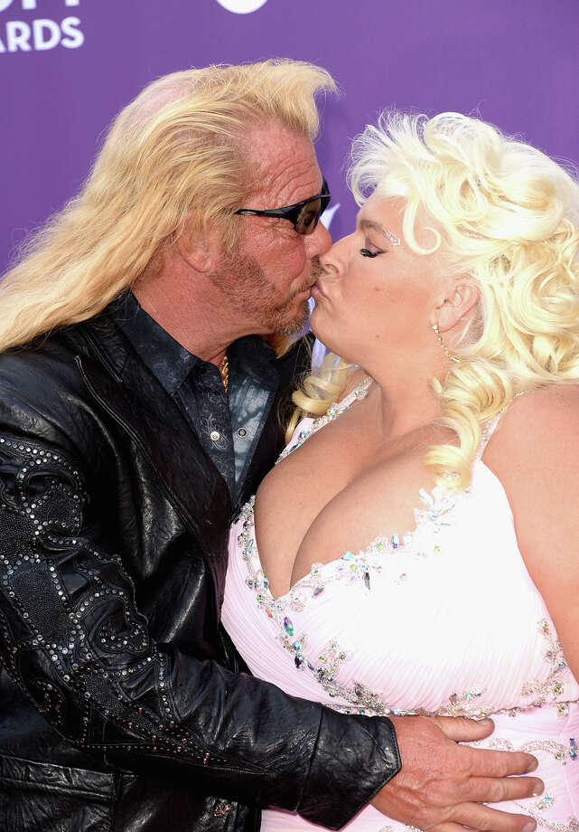 "Beth Chapman and her dog – er, husband – Duane ""Dog the Bounty Hunter"" Chapman. Photo: Jason Merritt, Getty Images / 2013 Getty Images"