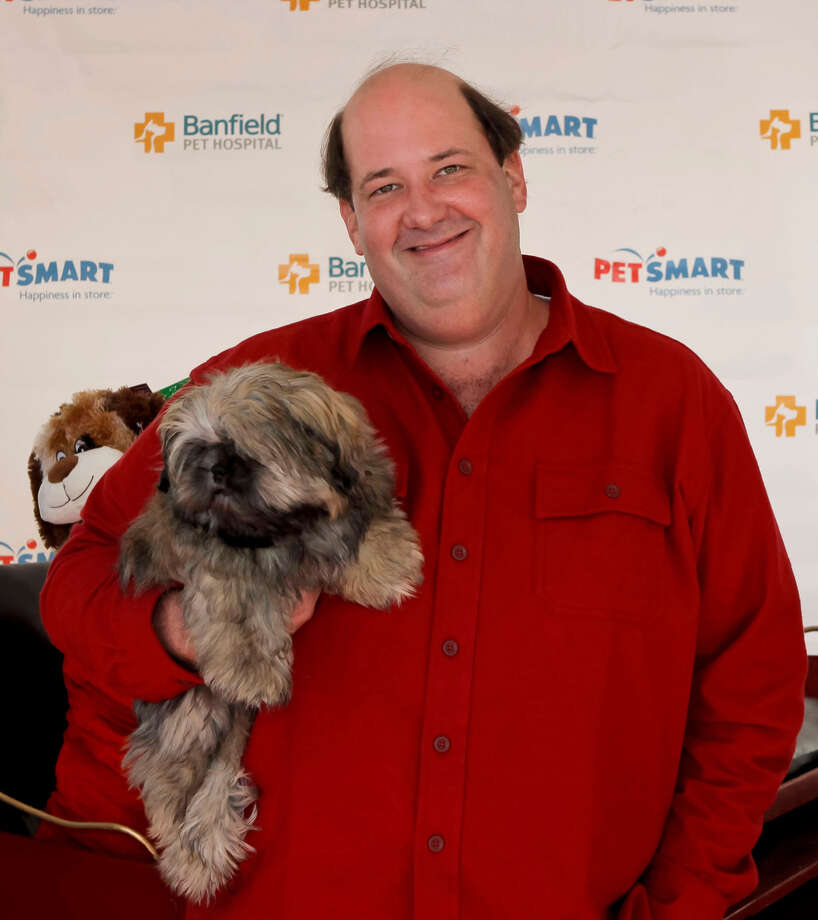 """The Office"" star Brian Baumgartner and Charlie. Photo: Tibrina Hobson, Getty Images / 2012 Tibrina Hobson"