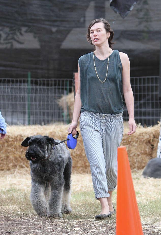 Actress Milla Jovovich. Photo: JB Lacroix, Getty Images / 2012 JB Lacroix