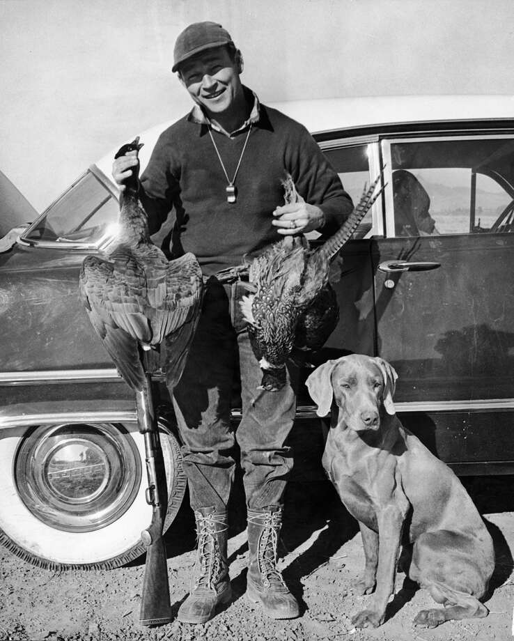 Roy Rogers and his hunting dog. Photo: Pictorial Parade, Getty Images / 2004 Getty Images