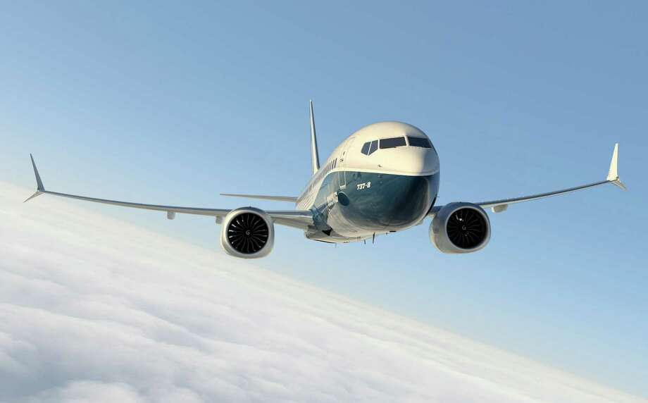 A Boeing 737 MAX is shown in this artist's depiction. Photo: Boeing Graphic, The Boeing Co. / Copyright © 2014  Boeing. All Rights Reserved.