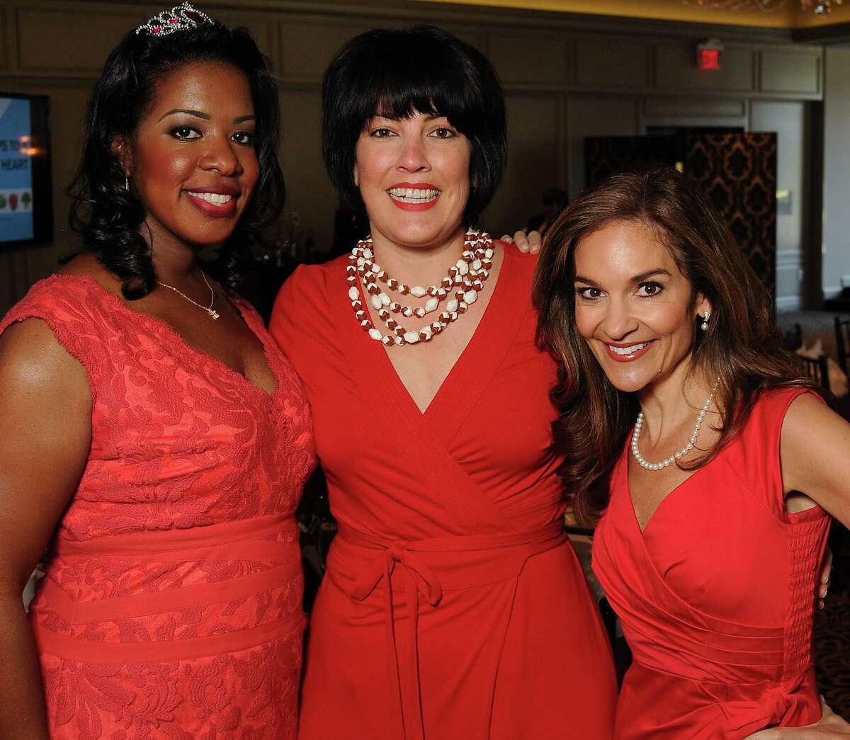 Charnette Taylor, from left, Kacey White and guest speaker Joy Bauer