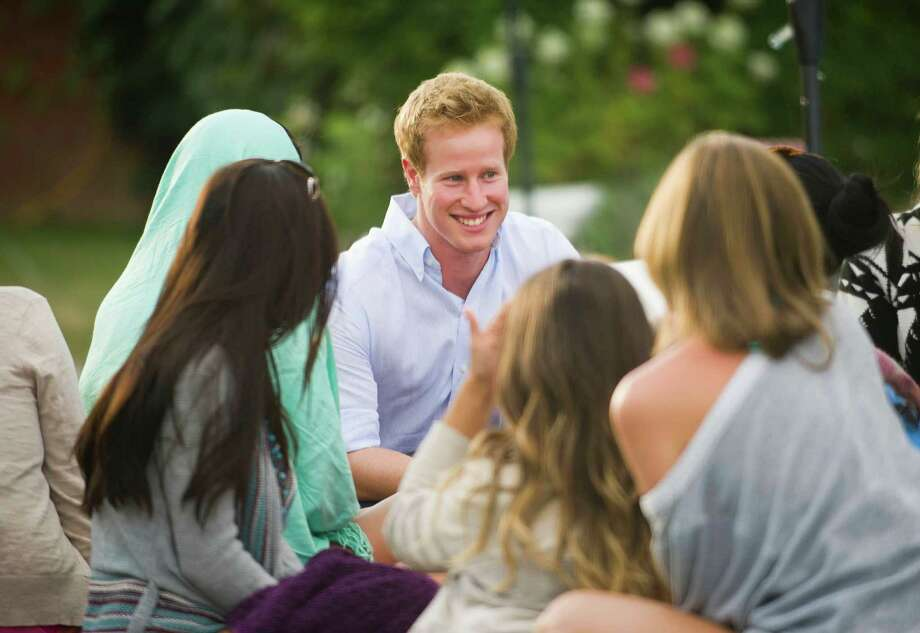 "Summer love is in the air, as, Matthew Hicks, an average English bloke, is given the royal treatment and an upper crust makeover before meeting 12 single American women searching for Prince Charming in "" I WANNA MARRY 'HARRY' "" Photo:  Chris Raphael / 1"