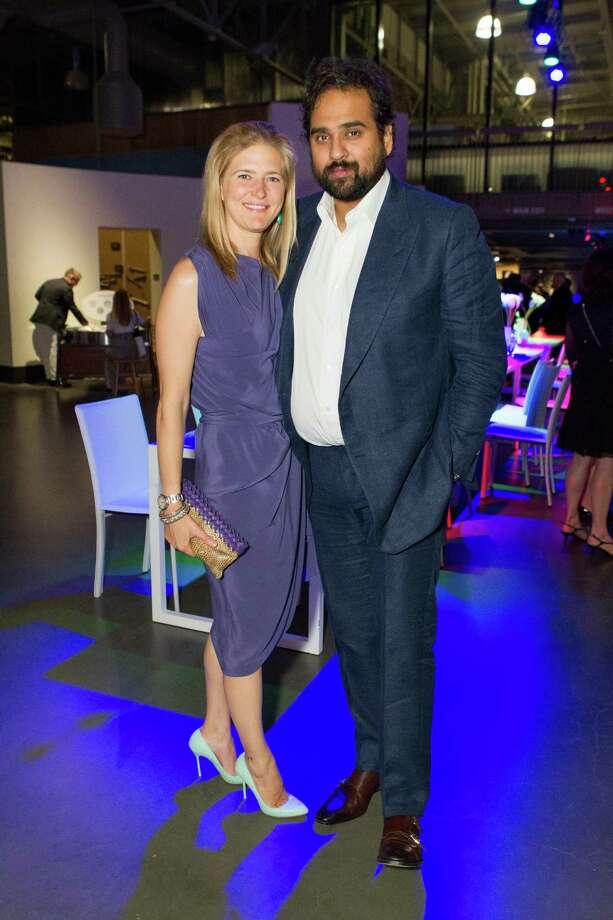 Alysia Engstrom and Housain Ramen at the Exploratorium Spring Gala on May 15, 2014. Photo: Drew Altizer, Drew Altizer Photography / Drew Altizer Photography