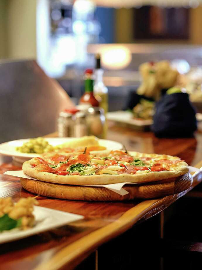 Bada Bing! Pizzeria offers a variety of pizzas with unusual toppings. Photo: TODD SPOTH, Photographer / © TODD SPOTH