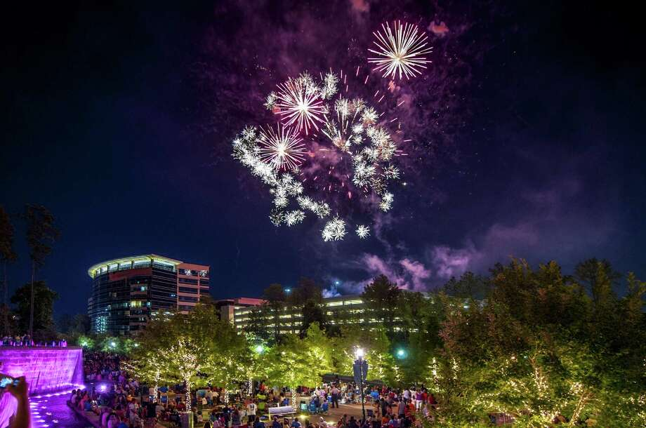 Fireworks will be a part of the Memorial Day weekend events at Town Green Park in The Woodlands. Photo: Courtesy Of The Woodlands CVB / Copyright©Ted Washington