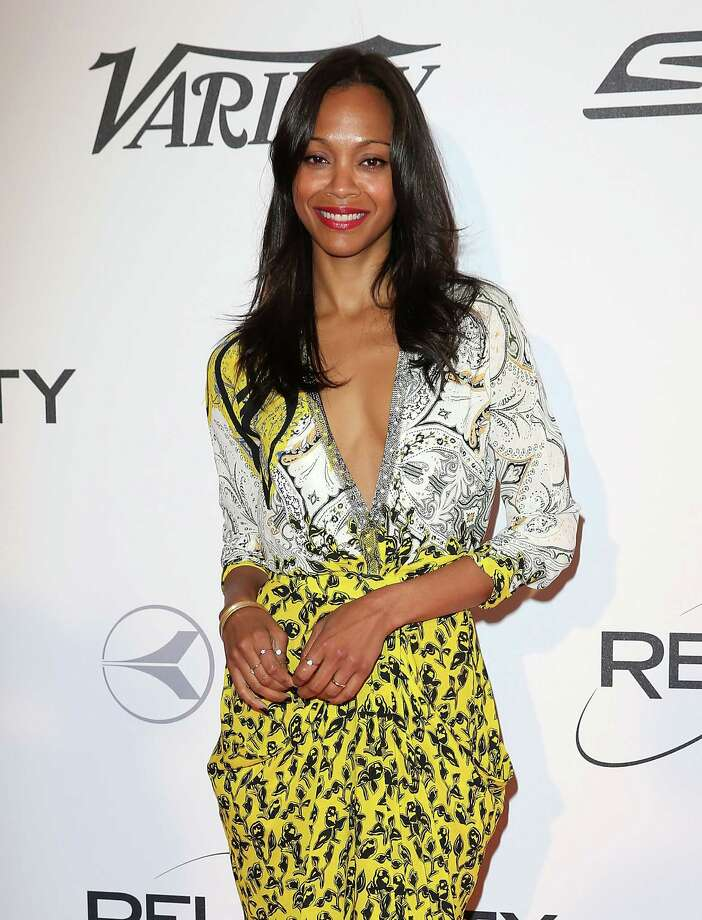 Zoe Saldana Photo: Danny Martindale, Getty Images / 2014 Danny Martindale