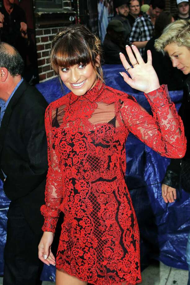 Lea Michele Photo: Alessio Botticelli, Getty Images / 2014 Alessio Botticelli
