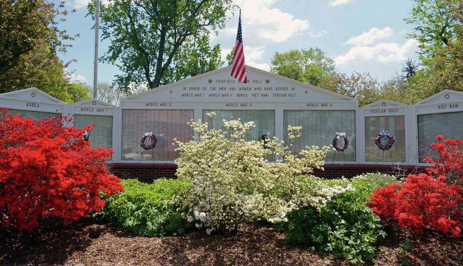 Plans are in place for the town's annual Memorial Day Parade, which steps off Monday at 10 a.m. from South Pine Creek Avenue, and makes its way down the Post Road and Old Post Road to the reviewing stand in front of Old Town Hall. Photo: Genevieve Reilly / Fairfield Citizen