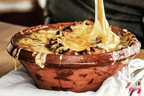 "French Onion Soup from  ""My Paris Kitchen"" by David Lebovitz (Ten Speed Press, $35)."