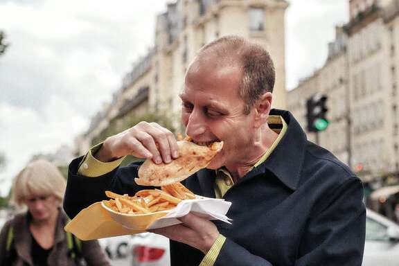 "David Lebovitz, author of  ""My Paris Kitchen"" (Ten Speed Press, $35)."