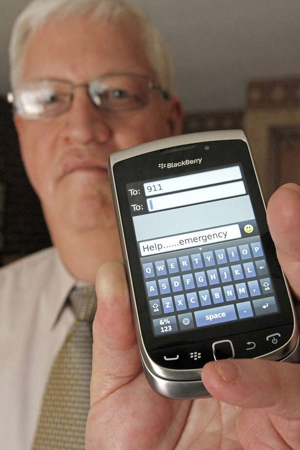 David Tucker has helped bring text 911 to the state of Vermont. Photo: Toby Talbot, Associated Press
