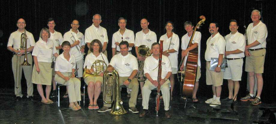 The Darien Fireworks Band invites instrumentalists to join for the 2014 season. Shown are members of the 2013 band Photo: Contributed Photo, Contributed / Darien News Contributed