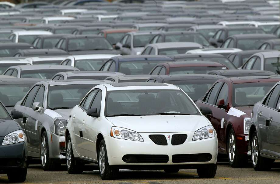 Pontiac G6s from 2005 to 2008 are among the vehicles General Motors is recalling for safety reasons. Photo: Paul Sancya, Associated Press