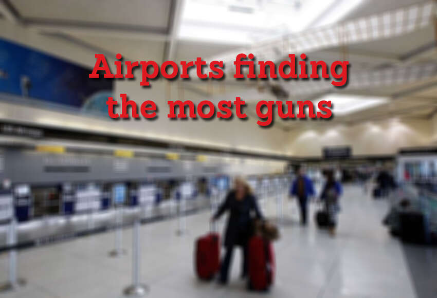 A quarter of firearms seized at airports in the United States during the last two years occurred at Texas airports, more than any other state, according to data provided by the Transportation Security Administration. However, Texas was not the home of the airport with the most seizures of any U.S. airport. Click through to see which airports seized the most guns. Databases: National airport firearm seizures | Texas airport firearm seizures PHOTO: A traveler walks to security at Charlotte-Douglas International Airport on Jan. 16, 2009, in Charlotte, North Carolina.