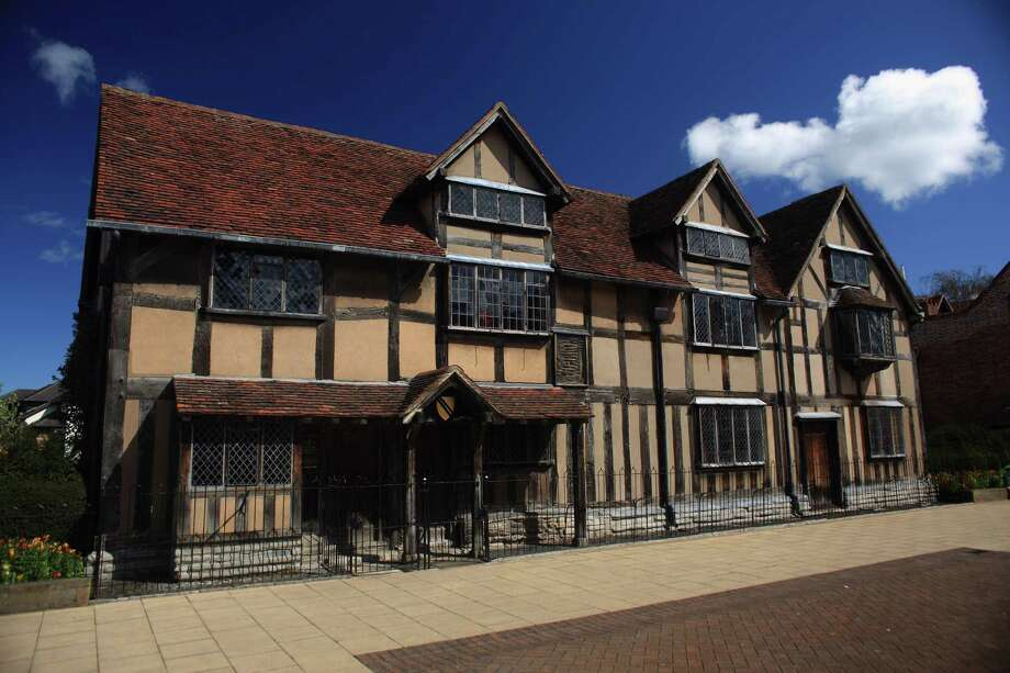 A view of William Shakespeare's birthplace on April 10, 2012 in Stratford-Upon-Avon, England. In late July, nearly 100 emissaries from the other Stratfords of the world will arrive in Stratford, Conn. to celebrate their commonalities, their love of Shakespeare. Photo: Christopher Furlong, Christopher Furlong/Getty Images / 2012 Getty Images