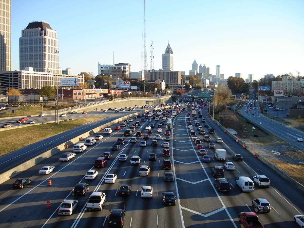 8. Atlanta-Sandy Springs-Marietta, Georgia Pedestrian danger index: 119.35 Annual pedestrian deaths (2008-2012) per 100,000 people: 1.59 Total pedestrian deaths (2003-2012): 839