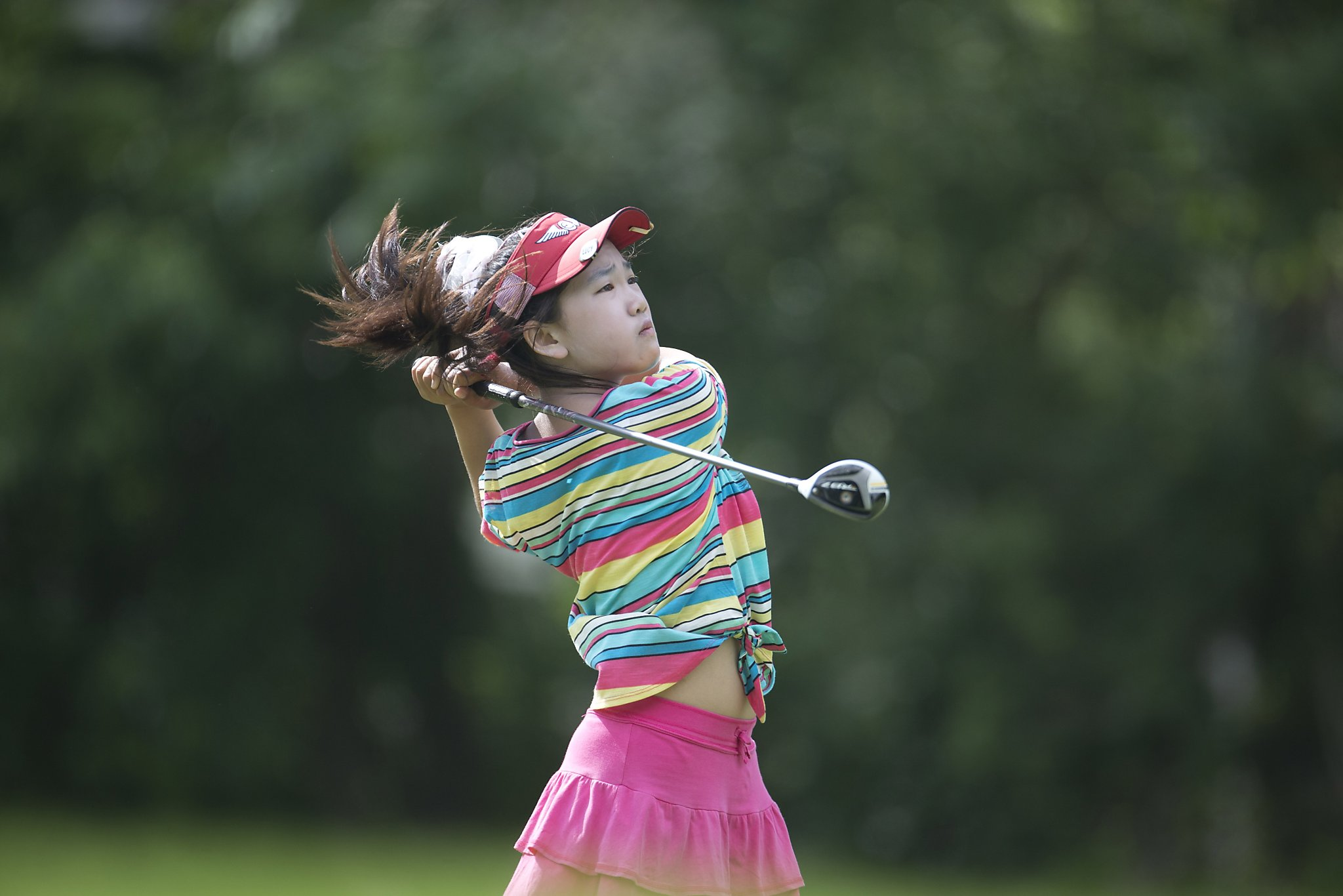 11 Year Old Golf Prodigy Lucy Li Seizes Slice Of History   SFGate