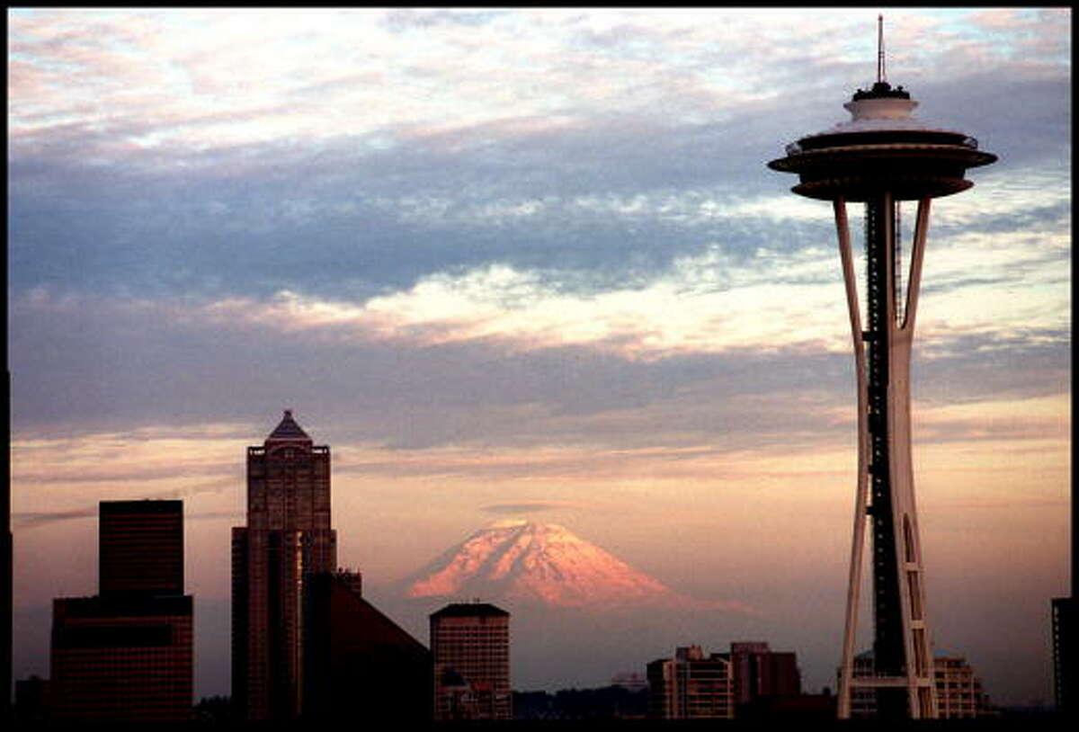 City: Seattle, Wash.Rank: 10Tallest building: Columbia Center (943 feet)