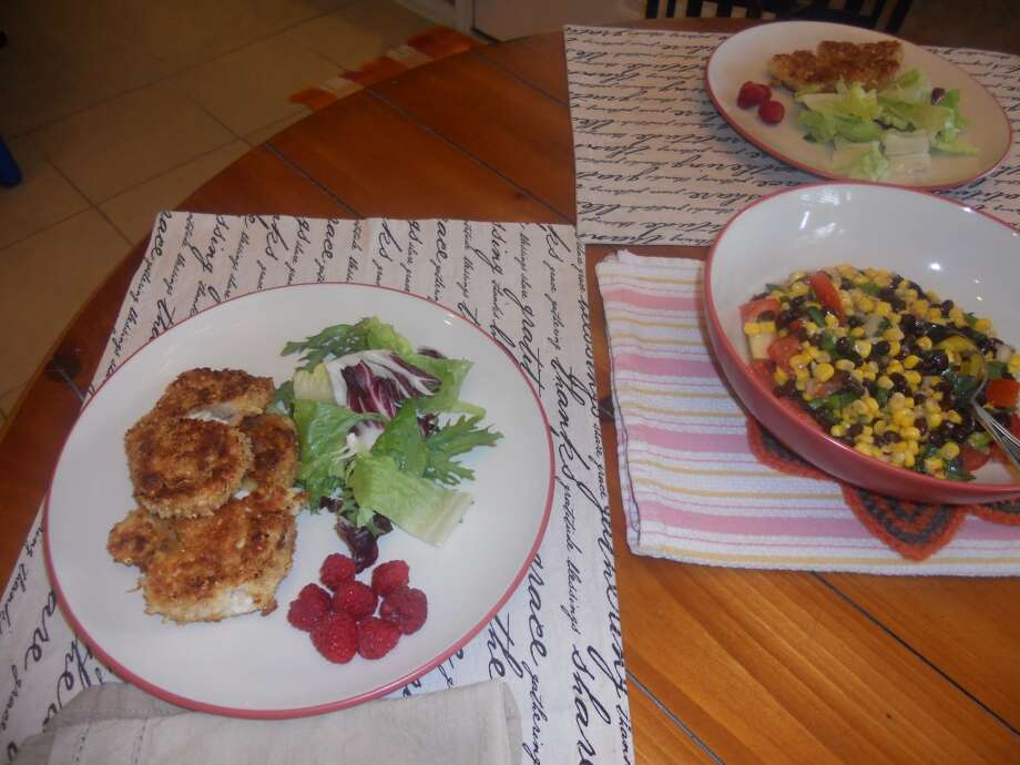 10: SIDEBARS. Serve the Peanut Chicken Scaloppine alongside corn and black bean salad and seasonal fruit.