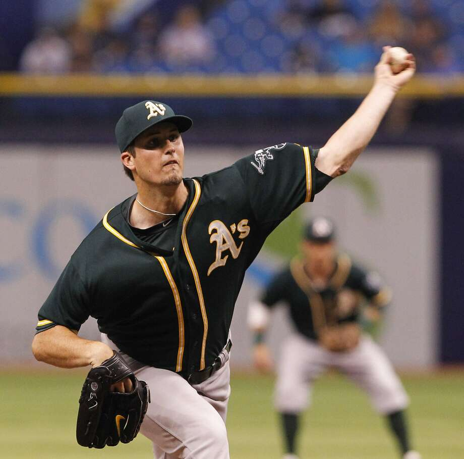 Drew Pomeranz had his third straight start of at least five innings without allowing a run. Photo: Will Vragovic, McClatchy-Tribune News Service