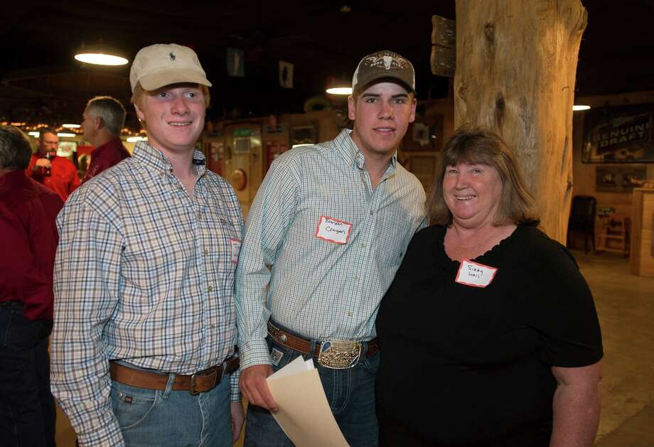 Did we see you at the YMBL Go Texan scholarship banquet at Big Rich Courville's on Tuesday afternoon? Photo taken Tuesday 5/20/14 Jake Daniels/@JakeD_in_SETX Photo: Jake Daniels / ©2014 The Beaumont Enterprise/Jake Daniels