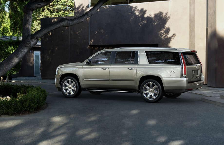 7. Cadillac EscaladeSource:LoJack Photo: General Motors