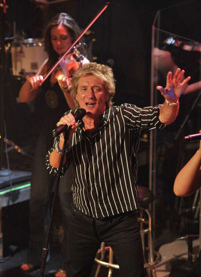 IMAGE DISTRIBUTED FOR CAPITOL RECORDS - Singer Rod Stewart performs at the Troubadour on Thursday, April 25, 2013, in Los Angeles. (Photo by John Shearer/Invision for Capitol Records/AP Images) Photo: John Shearer / Invision