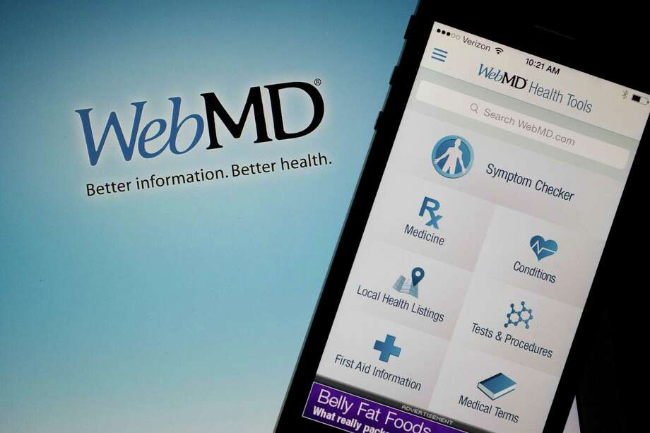 A 2013 survey reported that three-quarters of U.S. Internet users have  sought information from websites such as WebMD to diagnose themselves or someone else. Photo: Andrew Harrer / © 2014 Bloomberg Finance LP