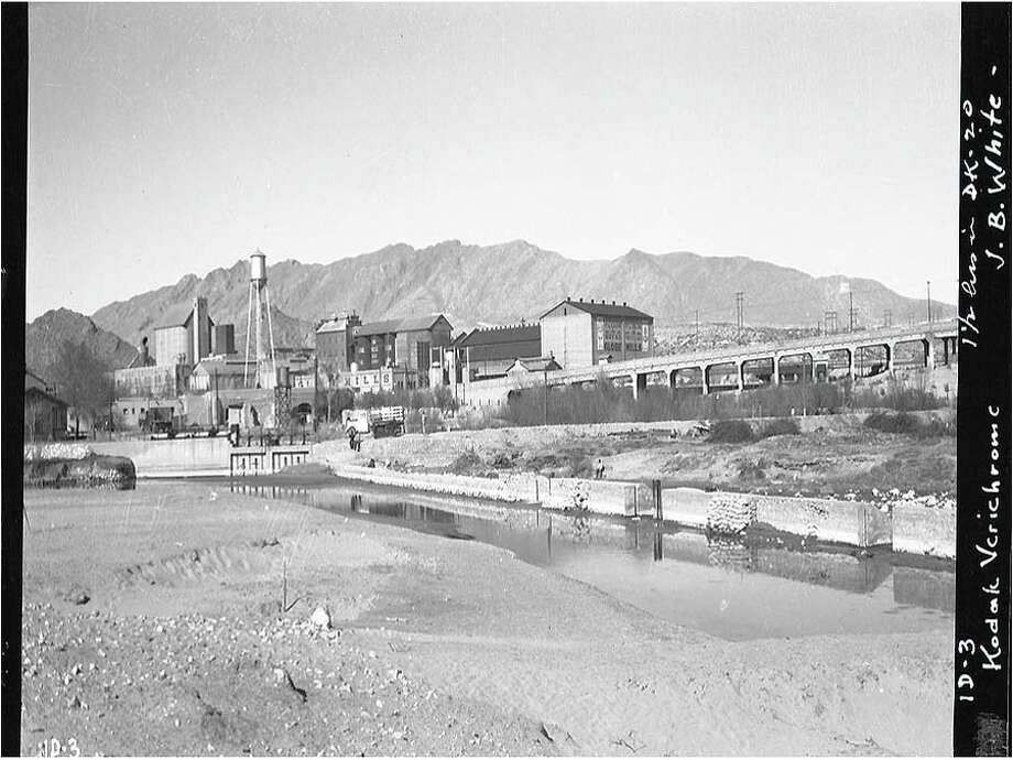 Onate Crossing/Hart's Mill/Old Fort Bliss (El Paso County)The tract of land lies near the Rio Grande and although it is obscured by today's highways and recent construction, it still holds remains of an adobe officer's quarters. Photo: Preservation Texas