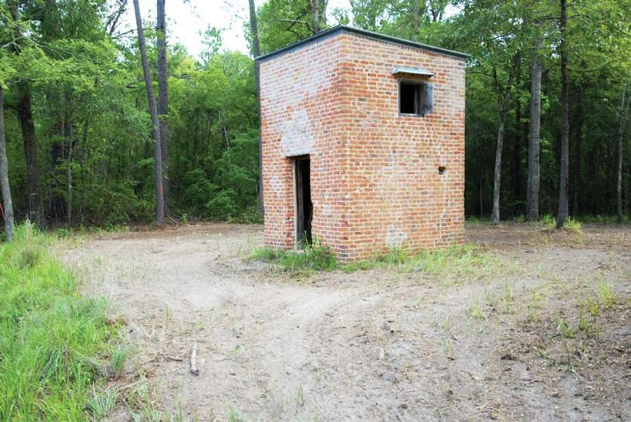 Jefferson Ordance Magazine (Marion County)It may be the only surviving powder magazine - a storage house for gun powder - in Texas from the Civil War era.  Photo: Preservation Texas