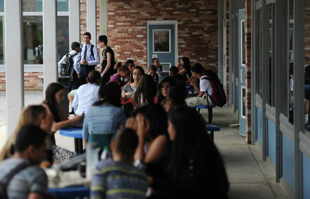 High School (grades 9-12) Danbury School District, 26.64 percent
