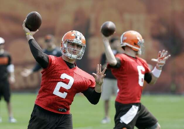 Former Cleveland Browns quarterback Johnny Manziel may be the most well-known former Aggie football player. Photo: Mark Duncan, Associated Press