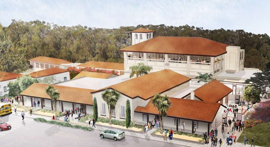 Exterior Rendering of the Officers' Club