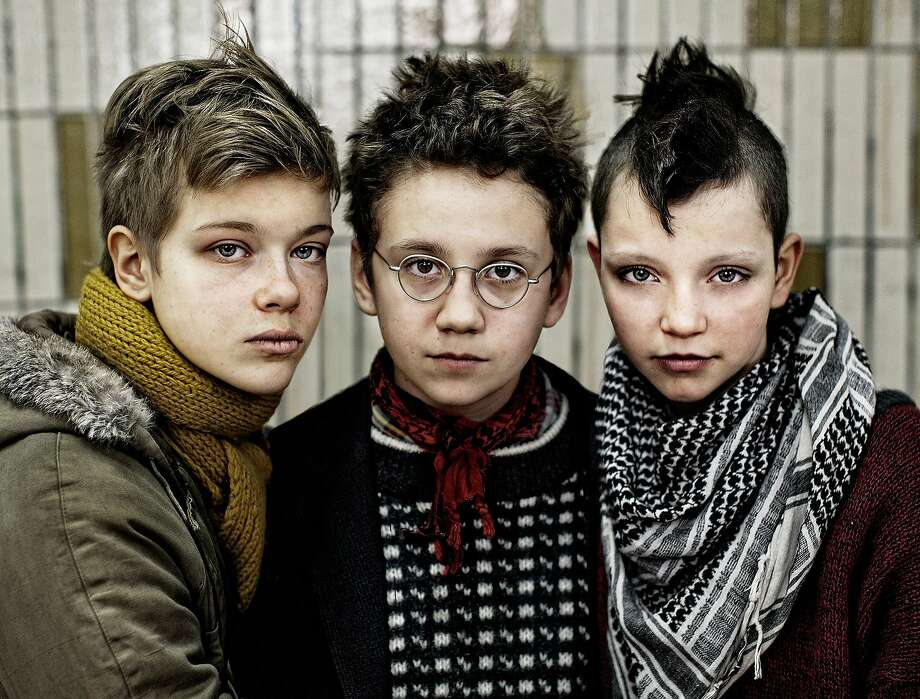 "The Stockholm punk scene in the 1980s comes alive in the Swedish-Danish drama ""We Are the Best!"" Mira Barkhammar (left), Mira Grosin and Liv LeMoyne play rebels who start a band. Photo: Magnollia Pictures, Magnolia Pictures"