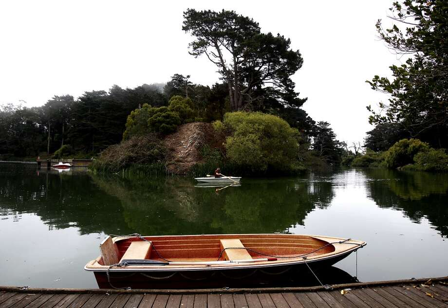 Not surprisingly, Golden Gate Park has the most barbecue options in S.F.  There are eight tables and two grills near the Stow Lake Boathouse. We'll get to the others soon ... Photo: Sarah Rice, Special To The Chronicle