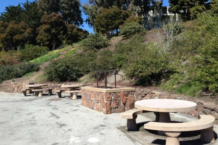 Here's that barbecue area. Looks legit. Photo: S.F. Rec And Park Department