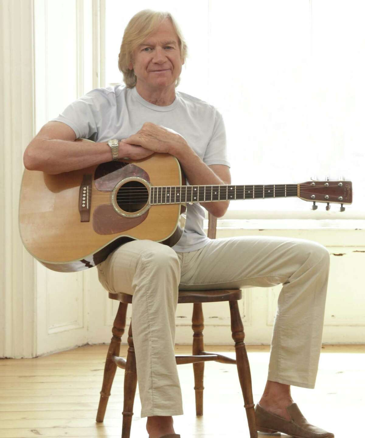 Justin Hayward, of The Moody Blues, is known for