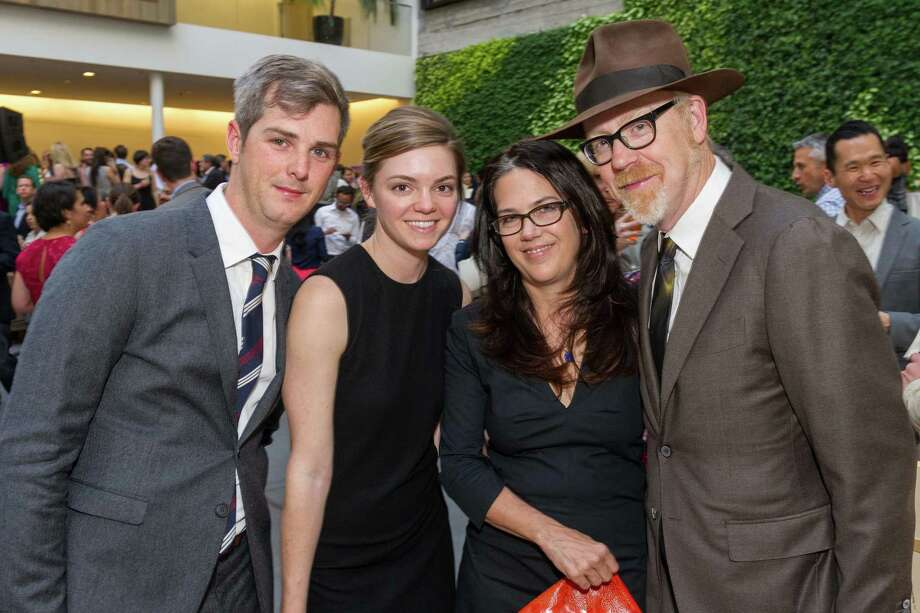 Jared Heinke, Amanda Smith, Julia Ward and Adam Savage at La Cocina's 2nd Annual Gala on May 12, 2014. Photo: Drew Altizer Photography/SFWIRE, Drew Altizer Photography / ©2014 Drew Altizer Photography