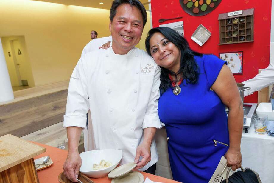 Charles Phan and Bini Pradhan at La Cocina's 2nd Annual Gala on May 12, 2014. Photo: Drew Altizer Photography/SFWIRE, Drew Altizer Photography / ©2014 Drew Altizer Photography